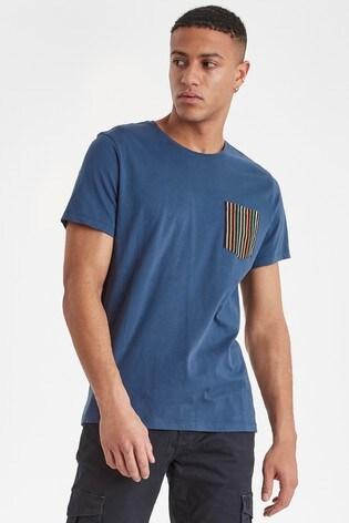 Blend Blue Regular Fit T-Shirt