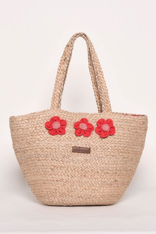 Brakeburn Jute Beach Bag