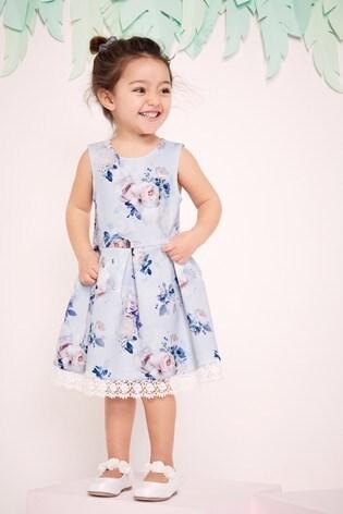 Lipsy Mini Girl Printed Scuba Dress
