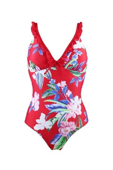 Pour Moi Miami Brights Control Swimsuit