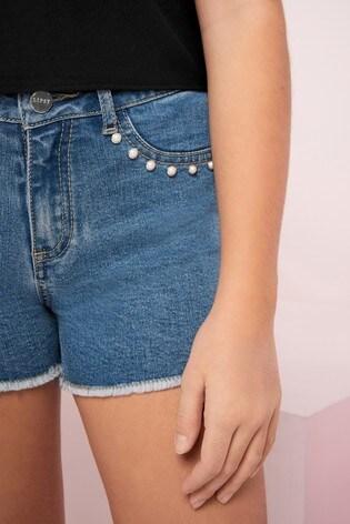 Lipsy Girl Denim Shorts