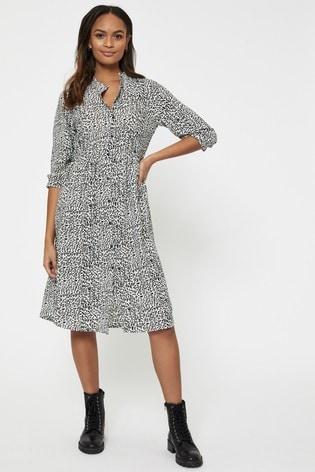 JDY Animal Print Shirt Dress
