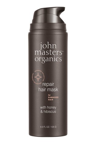 John Masters Organics Mask for Damaged Hair with Honey & Hibiscus 125g
