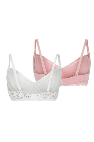 New Look Maternity 2 Pack Non Padded Bras