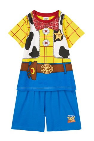 Kids Genius Toy Story's Woody Pyjama Shorts Set