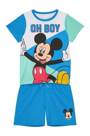 Kids Genius Mickey Mouse Pyjama Short Set