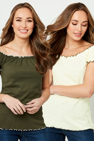 Joe Browns All New Gypsy Top Pack Of Two