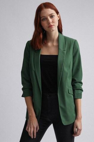 Dorothy Perkins Green Edge To Edge Jacket