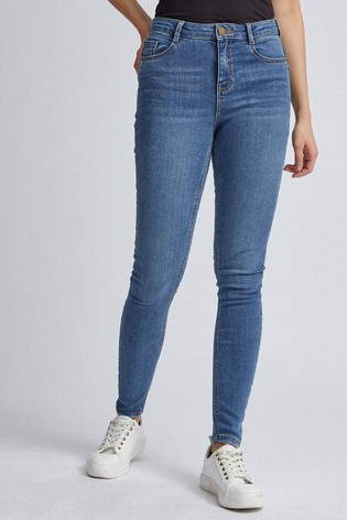 Dorothy Perkins Mid Wash Shape & Lift Jeans