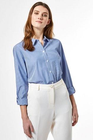 Dorothy Perkins Pin Stripe Cotton Shirt