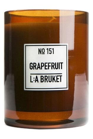 L:a Bruket Scented Candle Grapefruit 260g