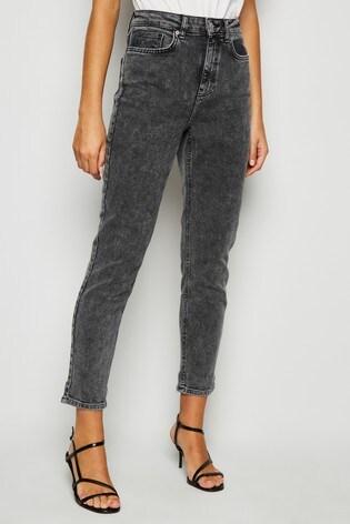 New Look Acid Wash Tori Mom Jeans