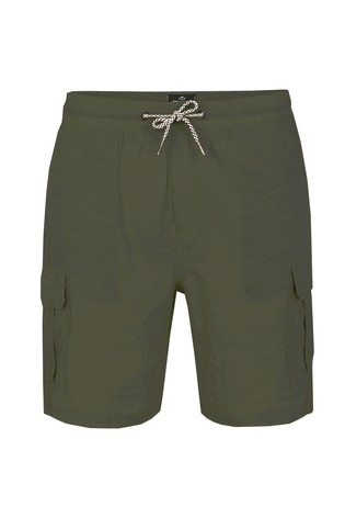 Threadbare Khaki Cargo Short