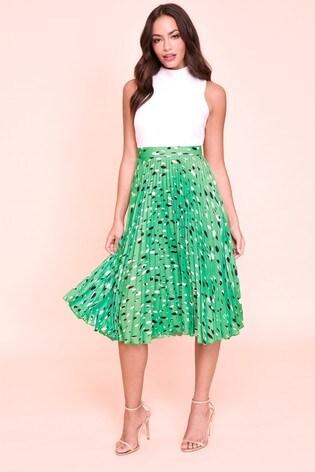 Closet Pleated Dress