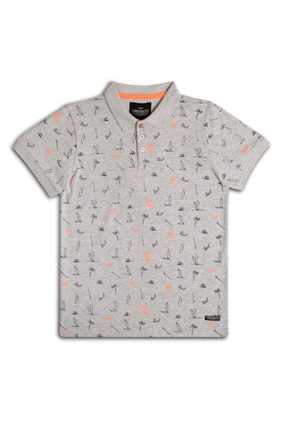 Threadboys Printed Polo T-Shirt