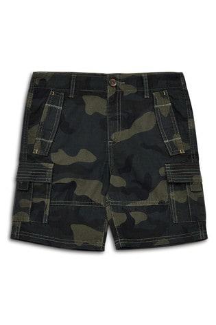 Threadboys Khaki Camo Chino Shorts