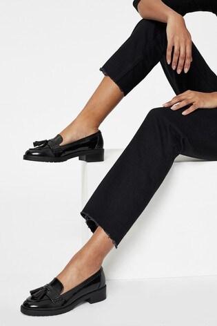 Lipsy Black Comfort Chunky Loafer