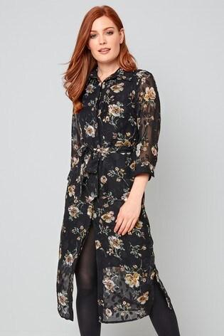 Joe Browns Winter Floral Shirt Dress