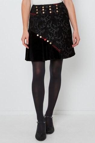 Joe Browns Button Jacquard Skirt
