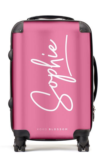 Personalised Signature Suitcase By Koko Blossom