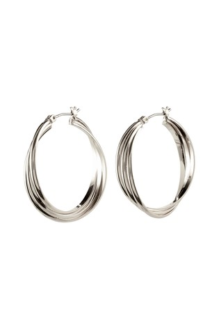 PILGRIM Silver Plated Earrings