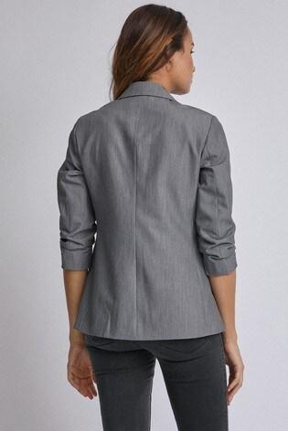 Dorothy Perkins Grey Edge To Edge Jacket
