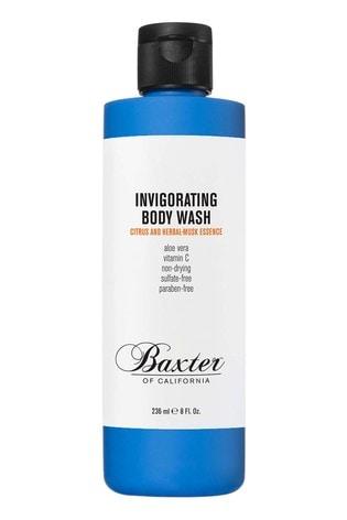 Baxter of California Invigorating Body Wash, Citrus and Herbal Musk 236ml