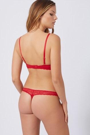 Boux Red Avenue Emmeline Balconette Bra