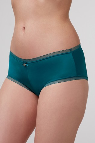Boux Avenue Green Lillie Lace Short