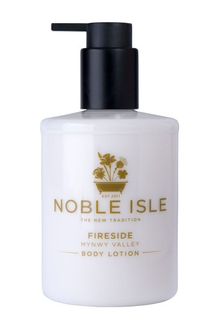 Noble Isle Fireside Luxury Body Lotion - Mynwy Valley - Satin Smooth