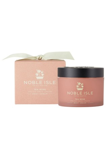 Noble Isle Tea Rose Luxury Body Cream - Chelsea Green - London Pure & Charming