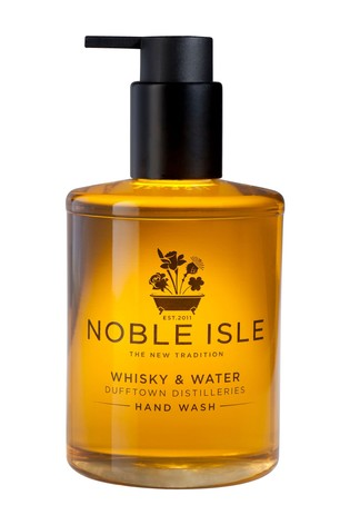 Noble Isle Whisky & Water Luxury Hand Wash - Dufftown Distilleries - Skin Calming And Protecting