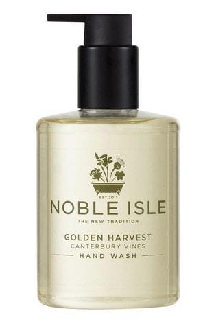 Noble Isle Golden Harvest Luxury Hand Wash - Canterbury Vines -Antioxidant Hand Cleanser