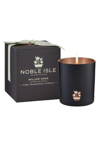 Noble Isle Willow Song Single Wick Candle  Lavenham Walk  Soft, Whimsical