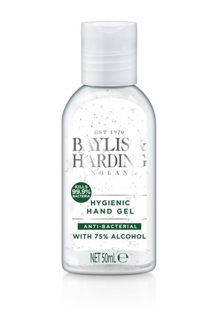 Baylis & Harding Un-fragranced Hand Sanitiser Gel 50ml