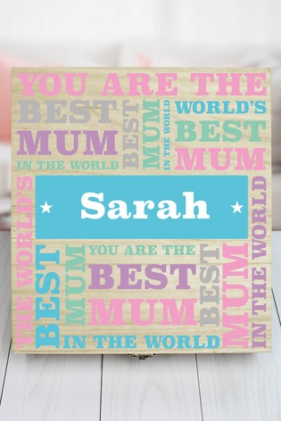 Personalised 6 Compart Best Mum Sweets by Great Gifts