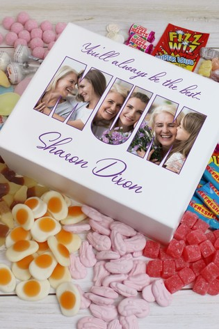 Personalised Mum Deluxe Photo Sweet Box by Great Gifts