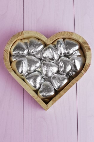 Personalised Mum Small Love Heart Photo Tray by Great Gifts