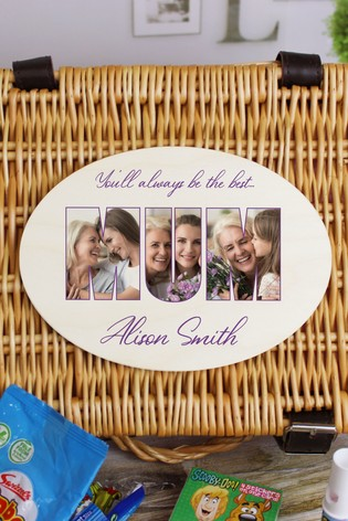 Personalised Mum Retro Sweet Photo Hamper by Great Gifts
