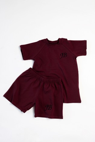 Personalised Shorts & T-Shirt Set by Forever Sewing