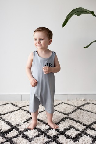 Personalised Short Leg Romper Suit by Forever Sewing