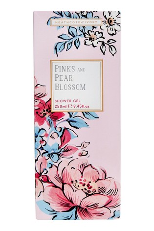 Heathcote & Ivory Florals Pinks & Pear Blossom Scent Everyday Shower Wash Gel