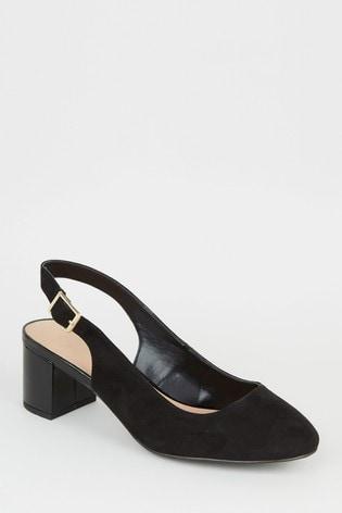 Look Wide Fit Radiance Sling Sandals