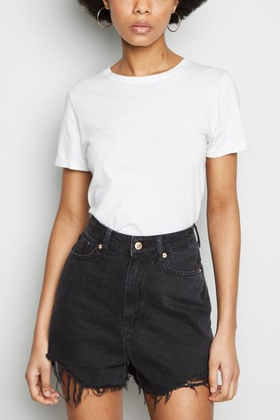 New Look High Rise Beyonce Mom Short