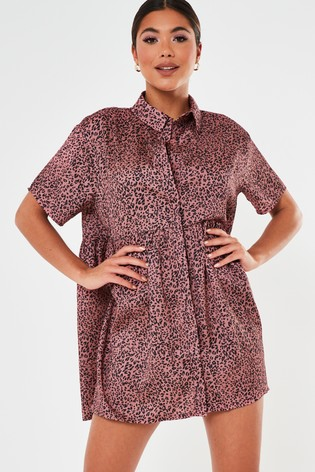 Missguided Shirt Smock Dress