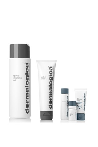 Dermalogica Cleansing and Moisturiser Set With Free Gift