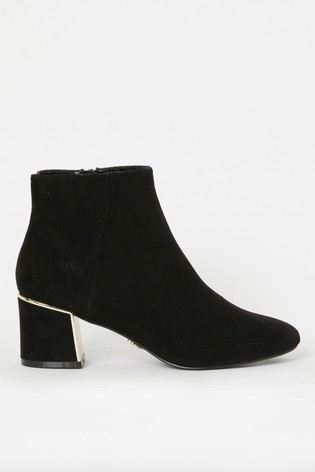 Lipsy Metal Block Heel Boot