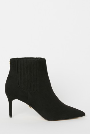 Lipsy Pointed Mid Heel Boot