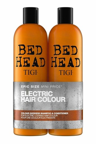 Tigi Bed Head Colour Goddess Oil Infused Shampoo and Conditioner for Coloured Hair Tween Duo 2 x 750ml