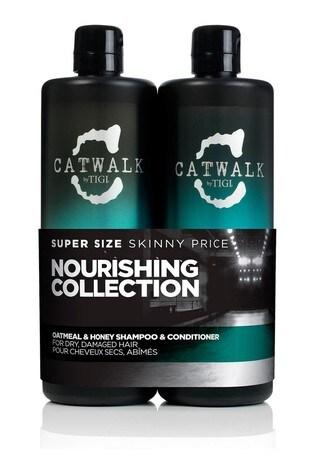 Tigi Catwalk Oatmeal and Honey Tween Shampoo and Conditioner Duo 2 x 750ml